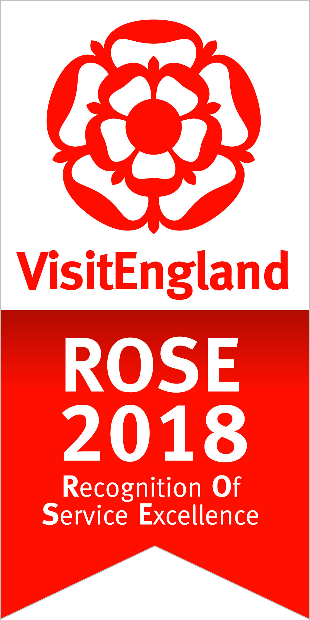 Visit England - Rose Award Winner